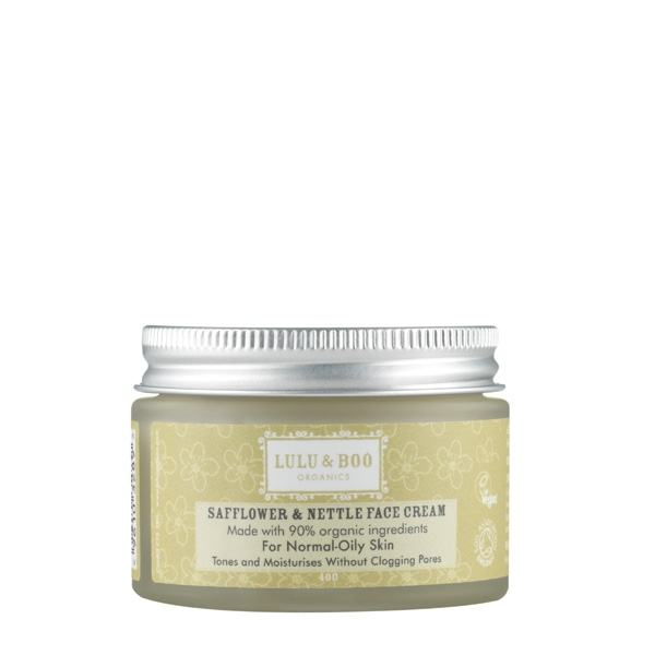Safflower and Nettle Face Cream - Pelle Normale e Mista