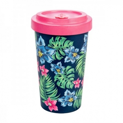 BAMBOO CUP - TROPICAL PINK