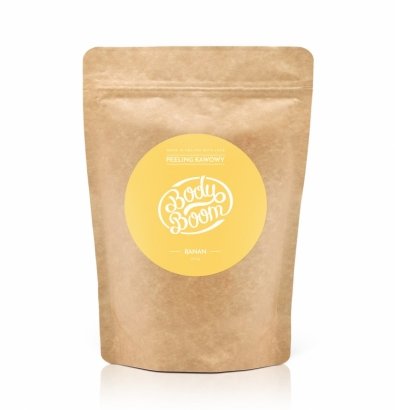 COFFEE SCRUB BODY BOOM - BANANA
