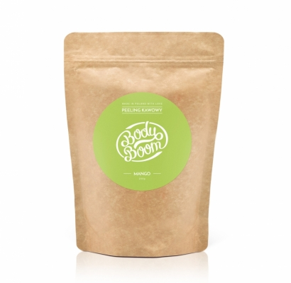COFFEE SCRUB BODY BOOM - MANGO