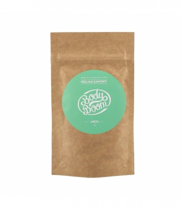 COFFEE SCRUB BODY BOOM - MENTA 30gr