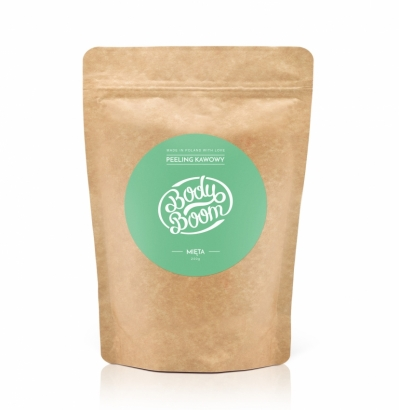 COFFEE SCRUB BODY BOOM - MENTA