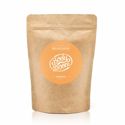 COFFEE SCRUB BODY BOOM - POMPELMO