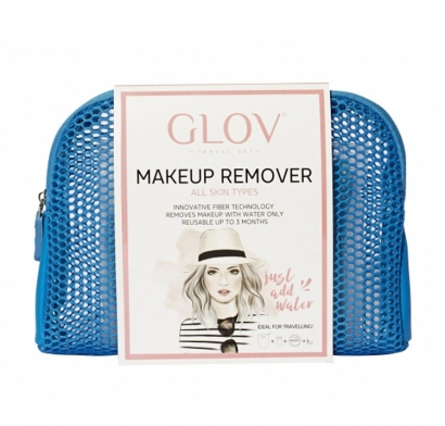 GLOV - TRAVEL SET BLUE CON POCHETTE