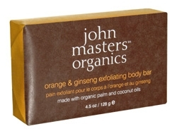 ORANGE & GINSENG EXFOLIATING BODY BAR - SAPONE ESFOLIANTE CORPO