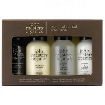 KIT REGALO - ESSENTIAL TRIAL SET JOHN MASTERS ORGANICS