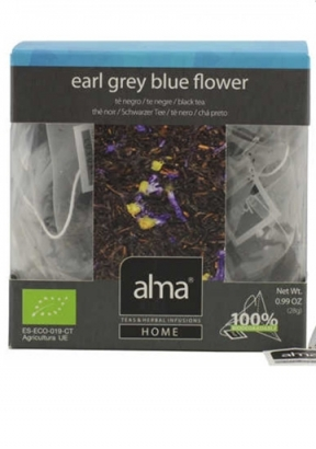 EARL GREY BLUE FLOWER - TE' NERO AL BERGAMOTTO
