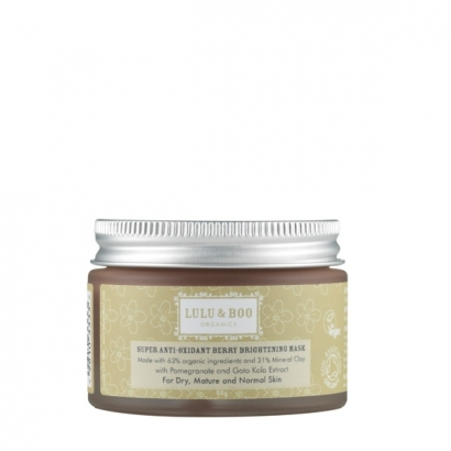 SUPER ANTI-OXIDANT BERRY BRIGHTENING MASK - MASCHERA VISO ANTIOSSIDANTE